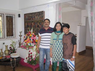 Arati's Family in Mumbai